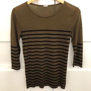 JCrew 3/4 Sleeve Shirt
